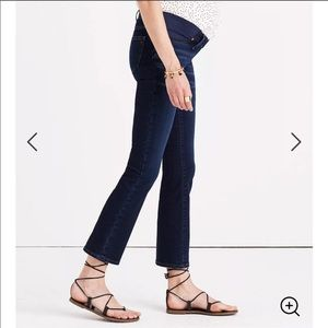 Madewell Maternity Cali Demi-Boot Jeans Hayes Wash